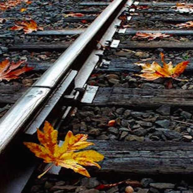 De oplossing voor de NS, een Laser Railhead Cleaner, aka de herfstbladen verwijderaar