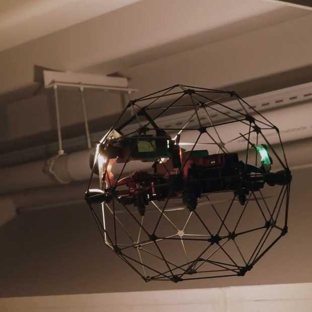 NS gaat gebruikmaken van drones voor inspecties