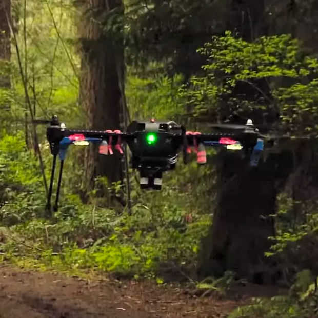 Autonome drone van Nvidia kan navigeren zonder GPS