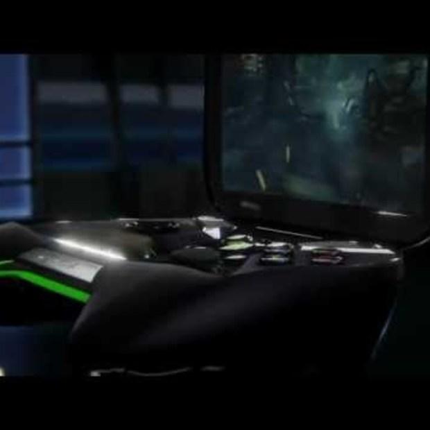 Nvidia Project Shield demo