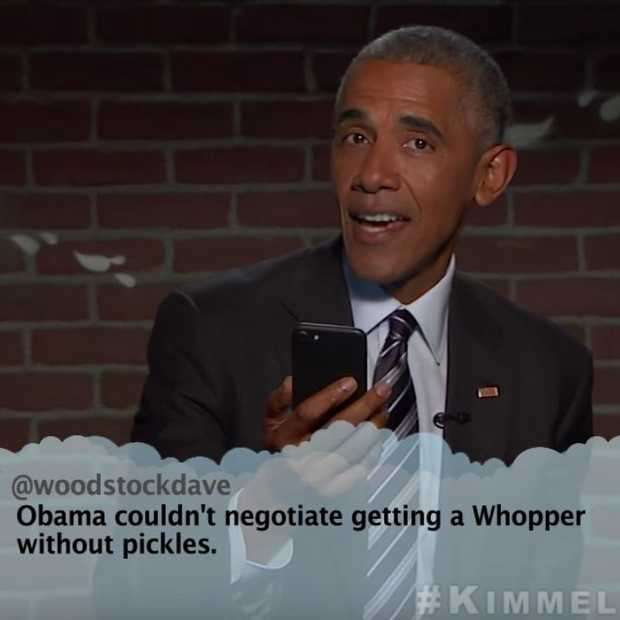 Video: Mean Tweets met president Obama