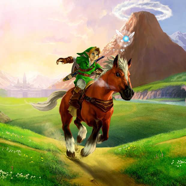 Zelda: Ocarina of Time 3D mag nog een keer game of the year worden