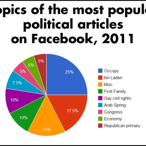 #Occupy domineert politieke jaar op Facebook