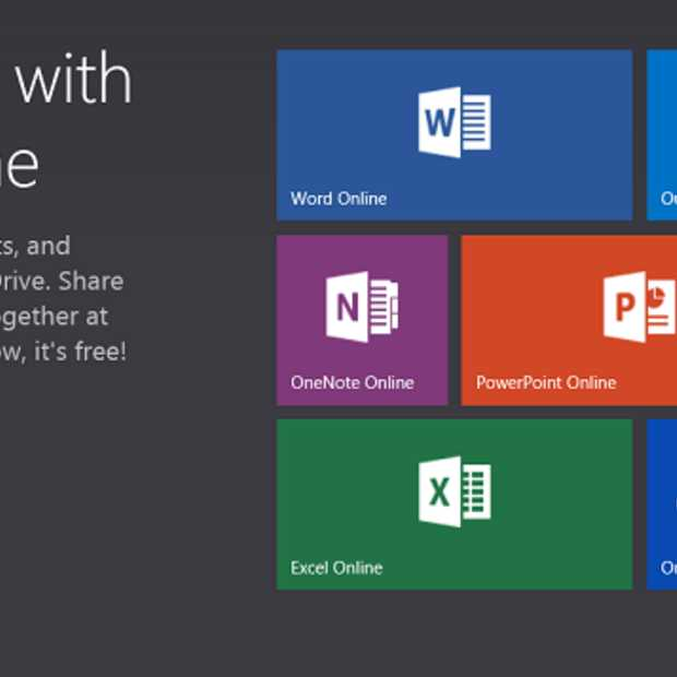 Office Web Apps wordt Office Online