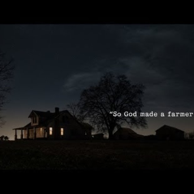 "Winnaar YouTube Ad blitz: Ram Trucks Super Bowl Commercial ""Farmer"""