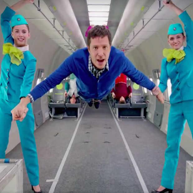 Kijken: OK Go maakt weer een spectaculaire videoclip