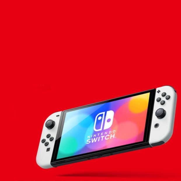Nintendo komt met nieuwe Switch OLED