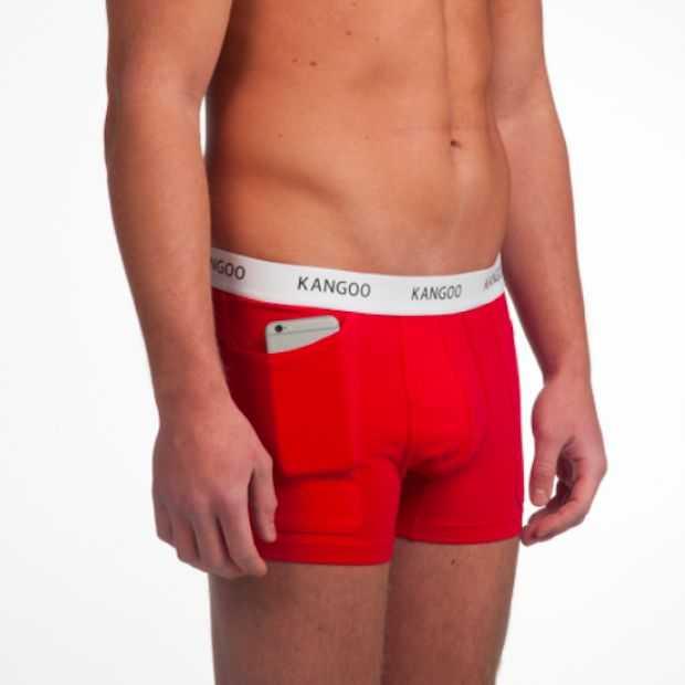 Nieuw: boxershorts met een diepe zak