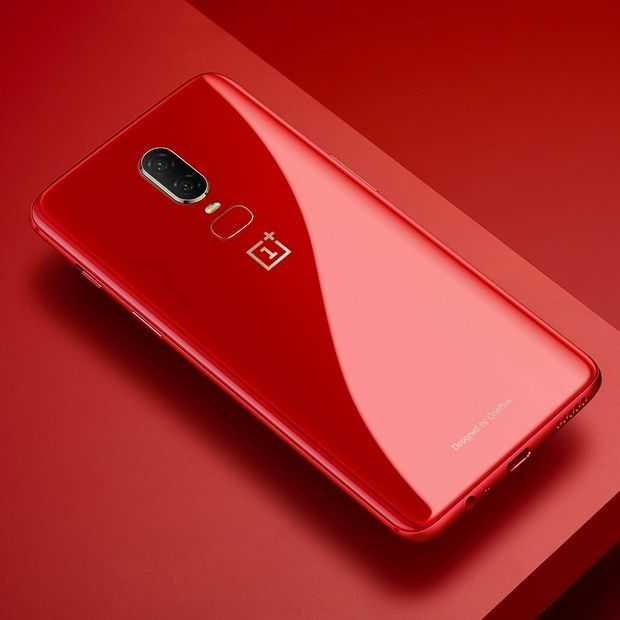 Check de rode variant van de OnePlus 6 die volgende week uitkomt