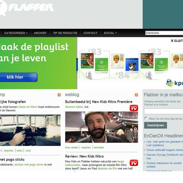 Online Billboard nieuw advertentieformaat