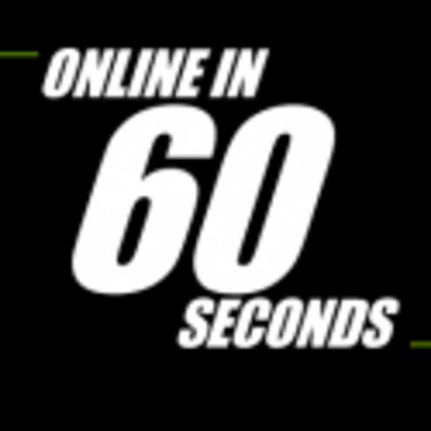 Online in 60 seconden [Infographic]