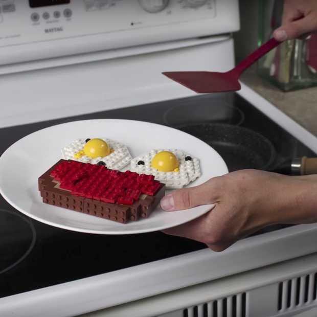 Video: dit is hoe een ontbijtje van LEGO eruit zou zien