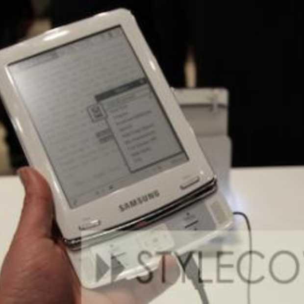 Ook Samsung mengt zich in de strijd van e-readers