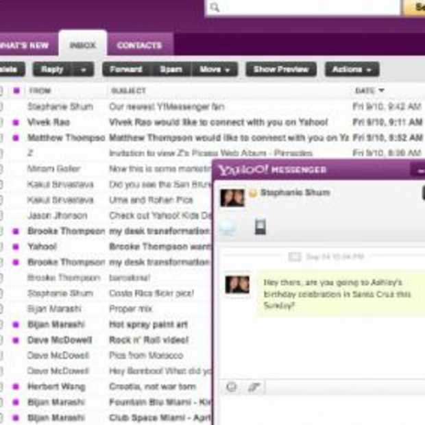 Ook Yahoo Mail krijgt een facelift