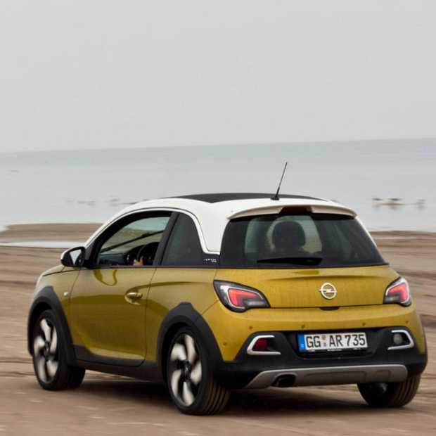 Opel Adam Rocks in Riga