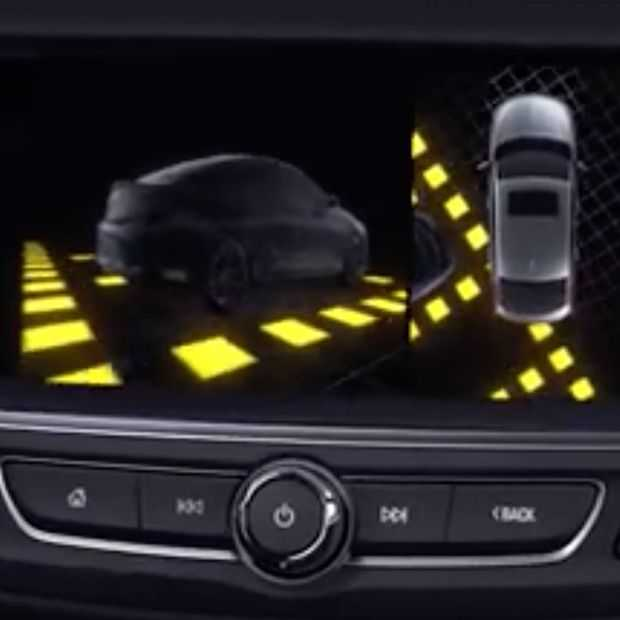 De Panoramic Rear View Camera van Opel: alles rondom in beeld