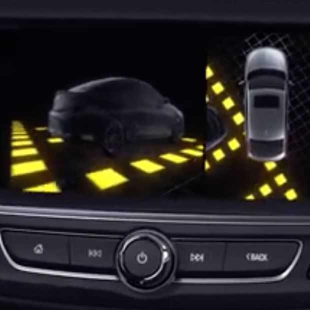 De Panoramic Rear View Camera van Opel: alles rondom in beeld
