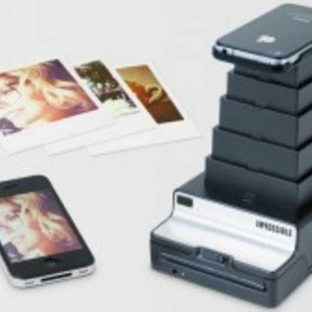 Ouderwets Polaroid-foto's maken via de iPhone