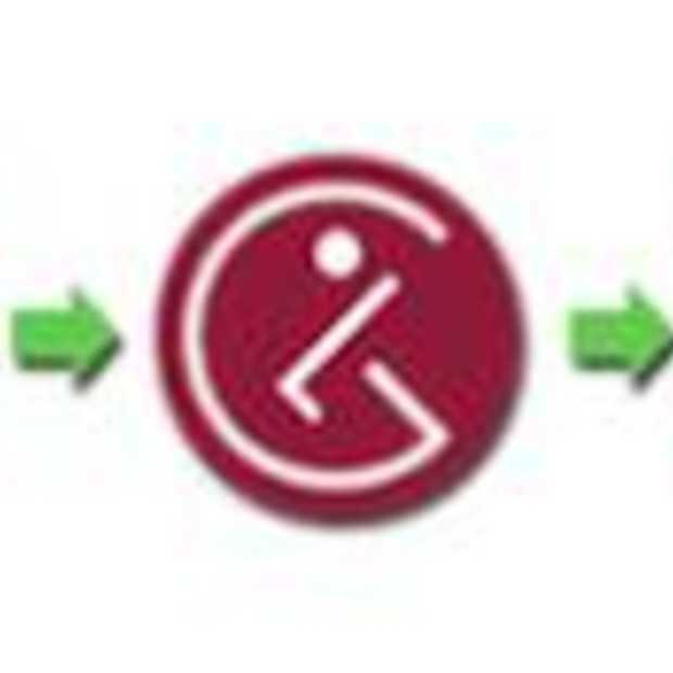 Pac-Man in LG Logo