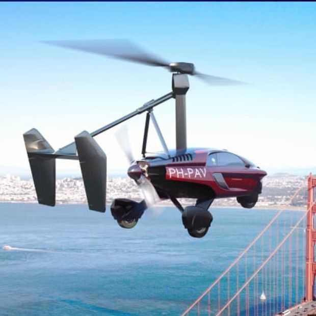 De PAL-V vliegende auto komt uit Nederland en is in 2019 klaar
