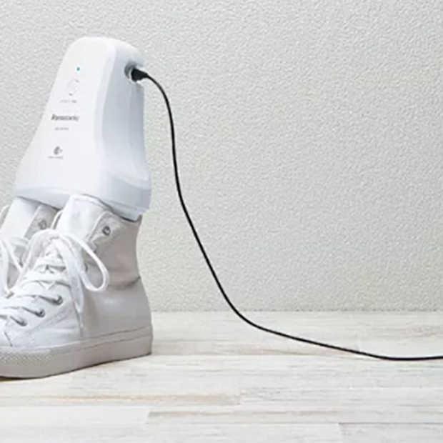 Deodorant voor je schoenen? Panasonic kan hier wel iets mee!