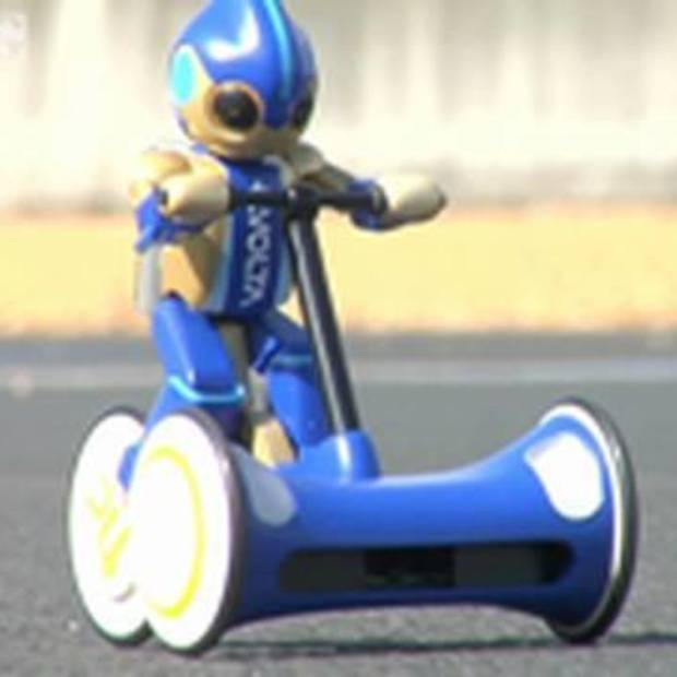 Robot fietst record op Le Mans (24uur)