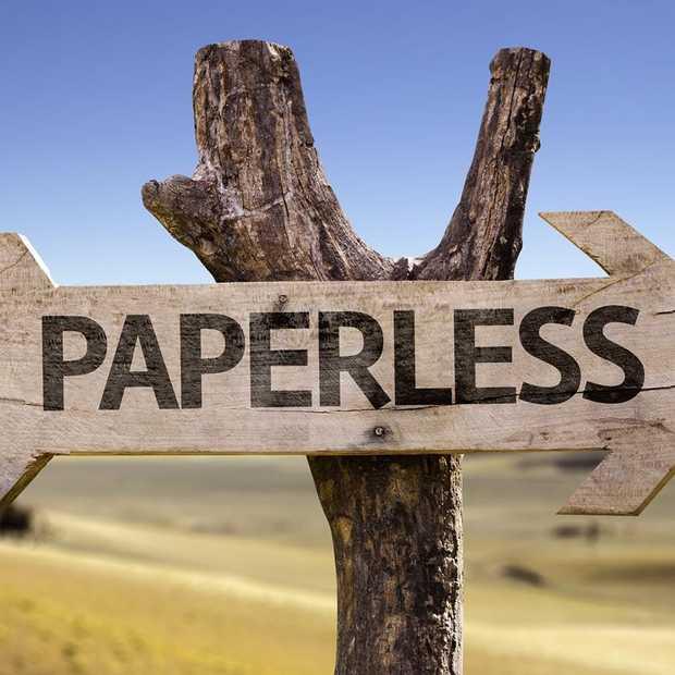 Is onze toekomst papierloos?