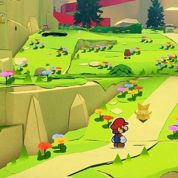 Heerlijke game voor druilerig weer: Paper Mario Origami King
