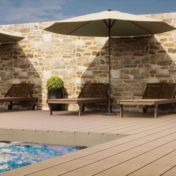 Maak je tuin klaar voor de zon met een mooie parasol!