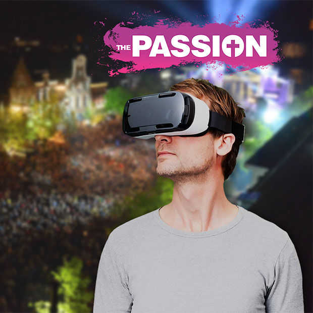 Kijk donderdag The Passion​ thuis in Virtual Reality