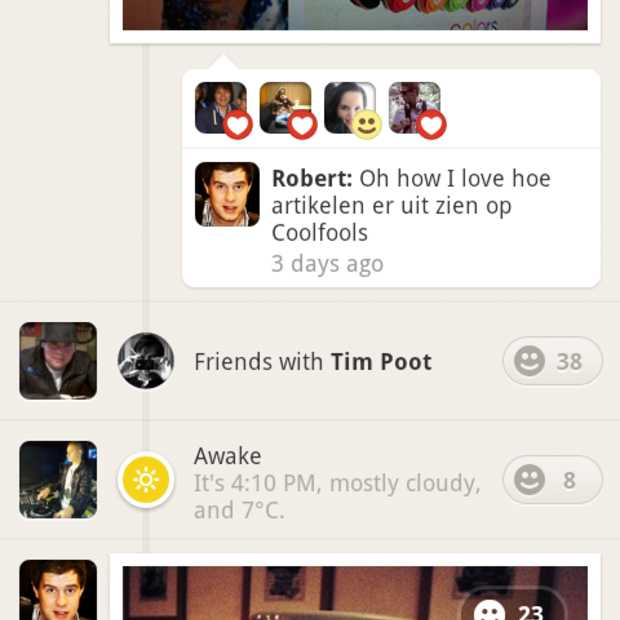 Path groeiende hype onder Nederlandse iOS- en Android-jongeren
