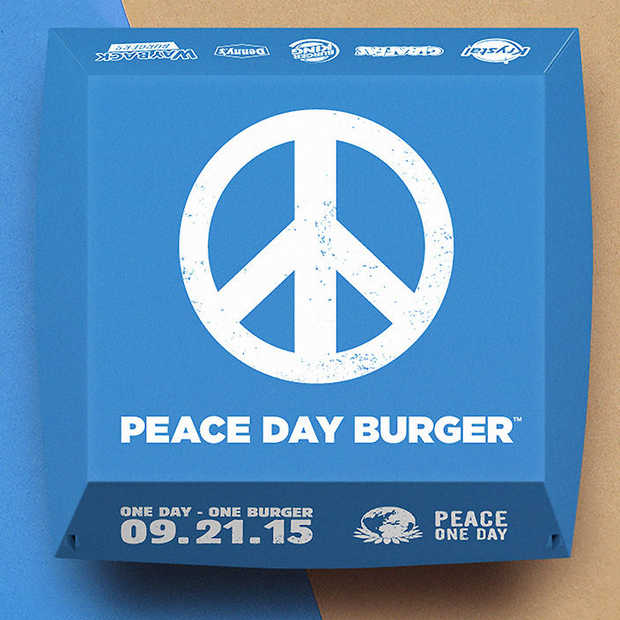 Burger King geeft niet op, poging 2: The Peace Day Burger