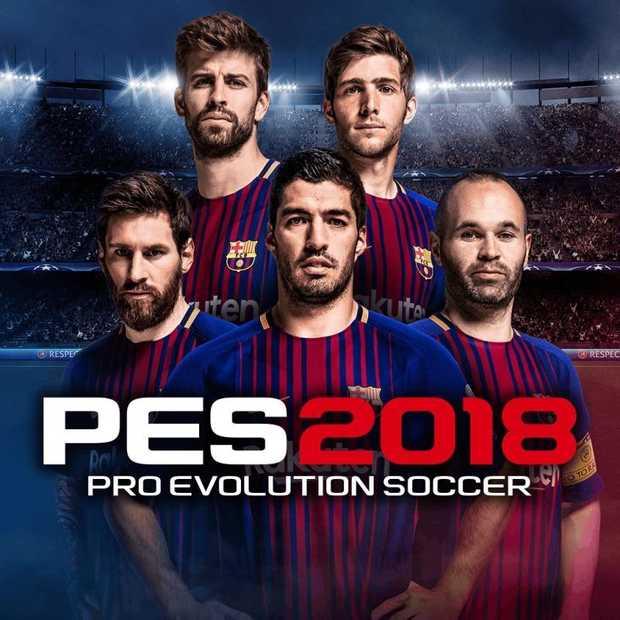 Pro Evolution Soccer 2018 vanouds vertrouwd