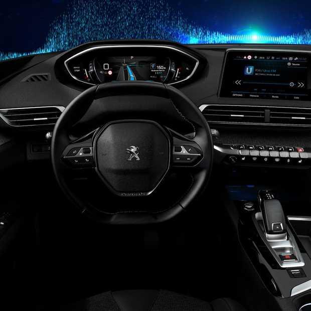 nieuwe peugeot i cockpit maakt autorijden leuker en veiliger. Black Bedroom Furniture Sets. Home Design Ideas
