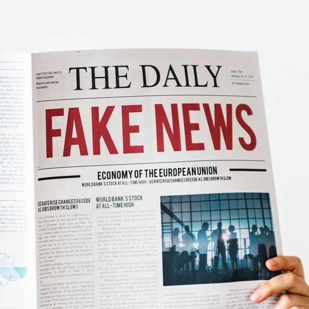 """""""Facebook moet meer transparantie bieden over fake news"""""""