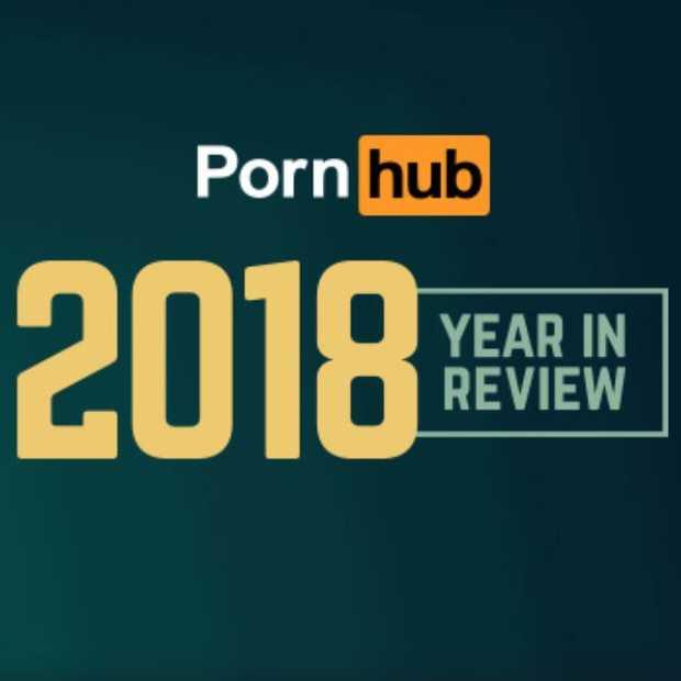 Pornhub jaaroverzicht 2018: gemiddeld 92 miljoen bezoekers per dag