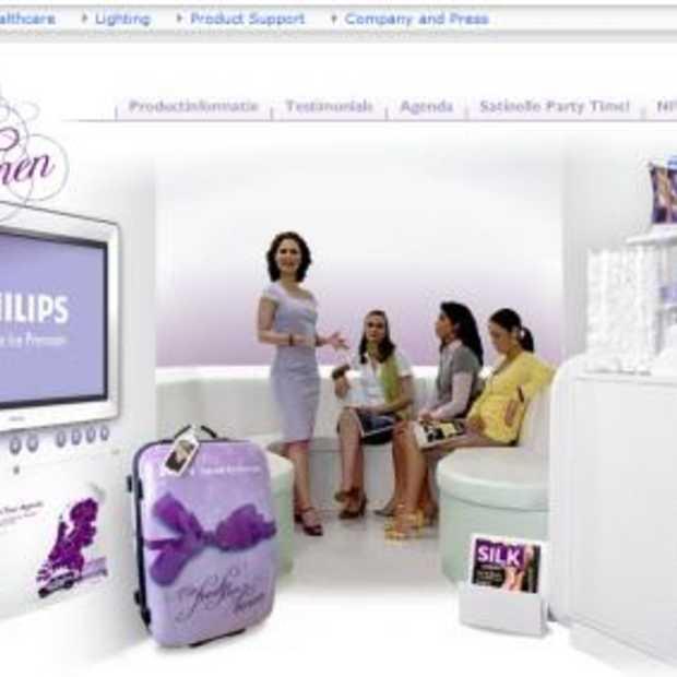 Philips organiseert feestjes voor vrouwenbenen