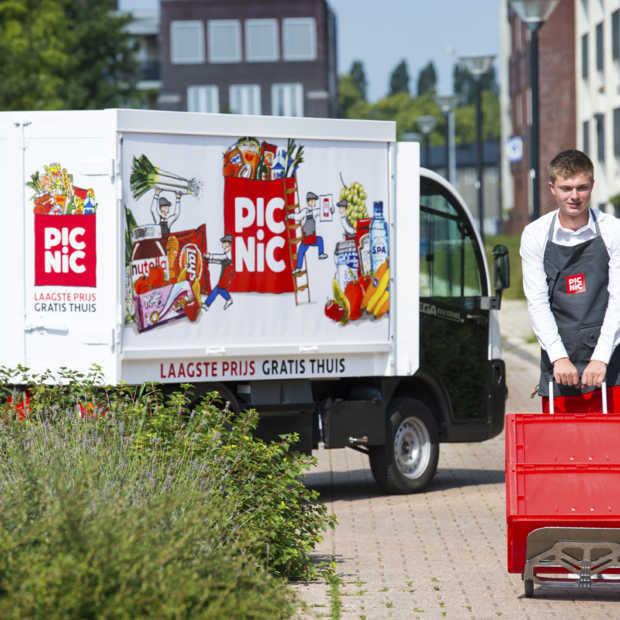 Online supermarkt Picnic gaat ook op zondag gratis bezorgen