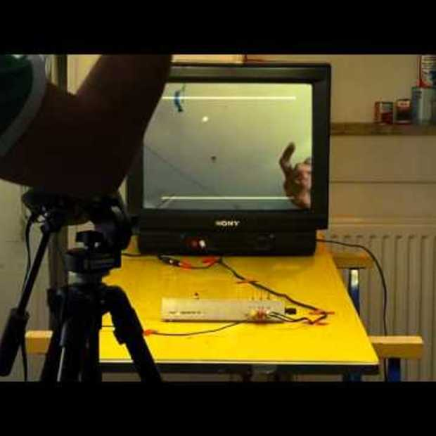 Old-School PONG With A Touch Of Modern Augmented Reality