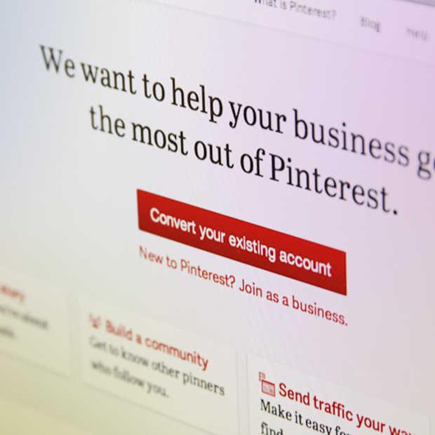 Pinterest introduceert business accounts