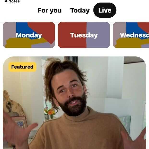 Pinterest gaat live-streaming testen tijdens virtueel event