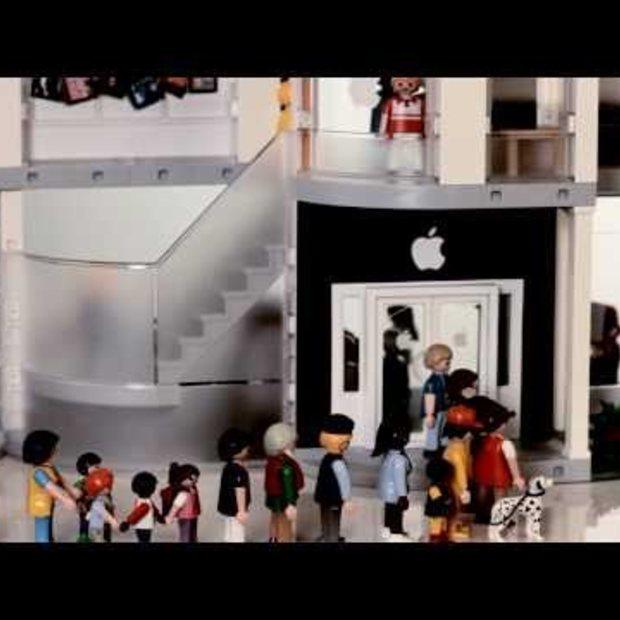 Playmobil Apple Store Play Set