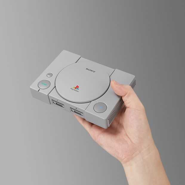 Sony's Playstation Classic krijgt 20 games, lanceert in december