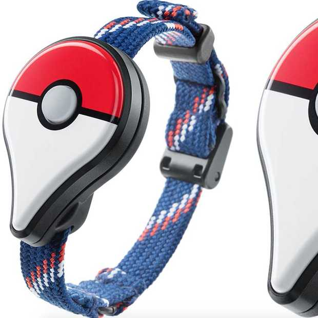 Wearable voor PokeTrainers: Pokémon GO Plus