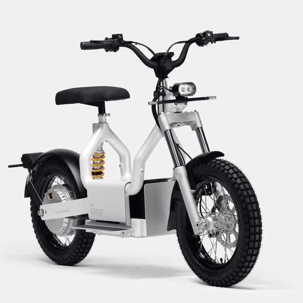 Polestar onthult de Makka een e-moped limited edition