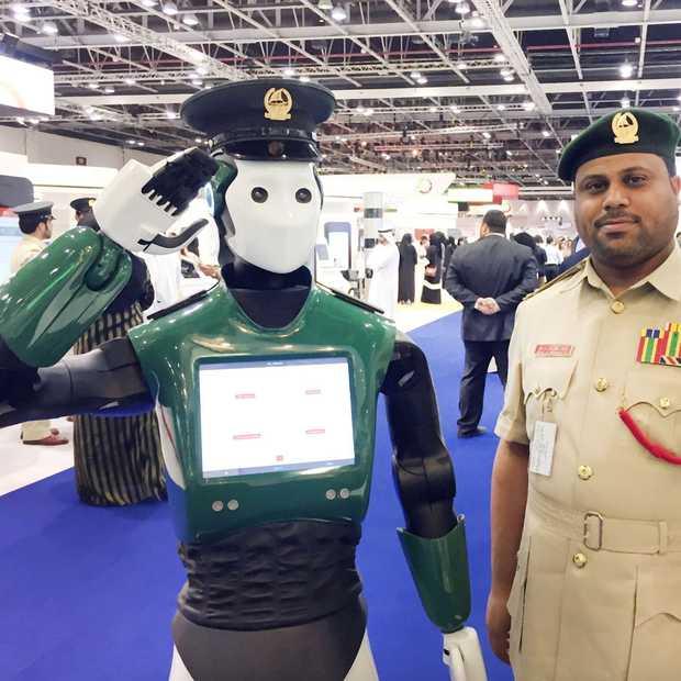 Deze politierobot moet Dubai gaan beveiligen