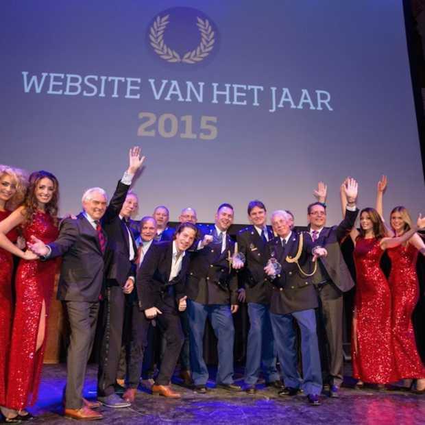 Politie.nl trotse winnaar 'Website van het Jaar' 2015