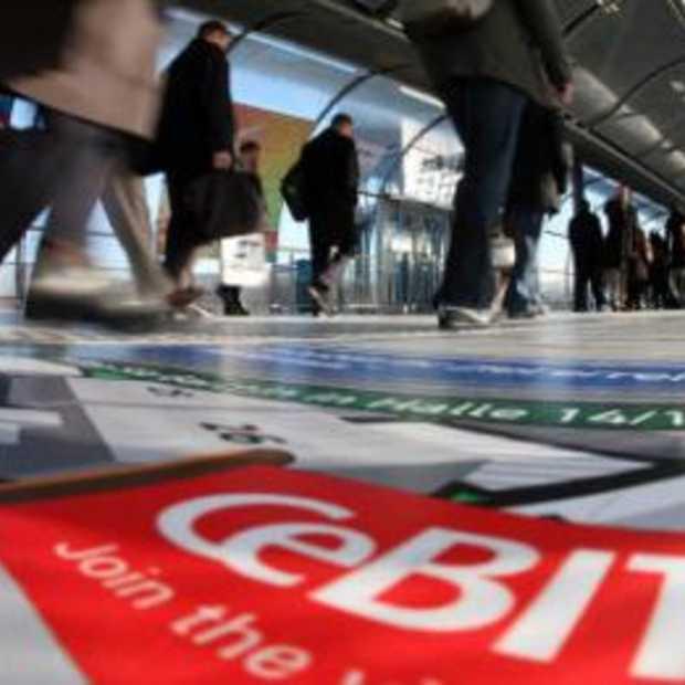 Politieinval op Duitse CEBIT