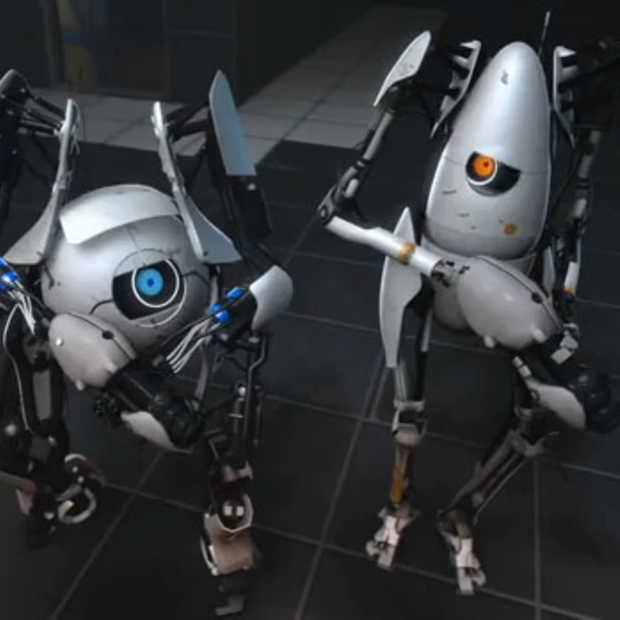 Portal 2's co-op modus: Robot-Bert en Ernie in elkaars gat