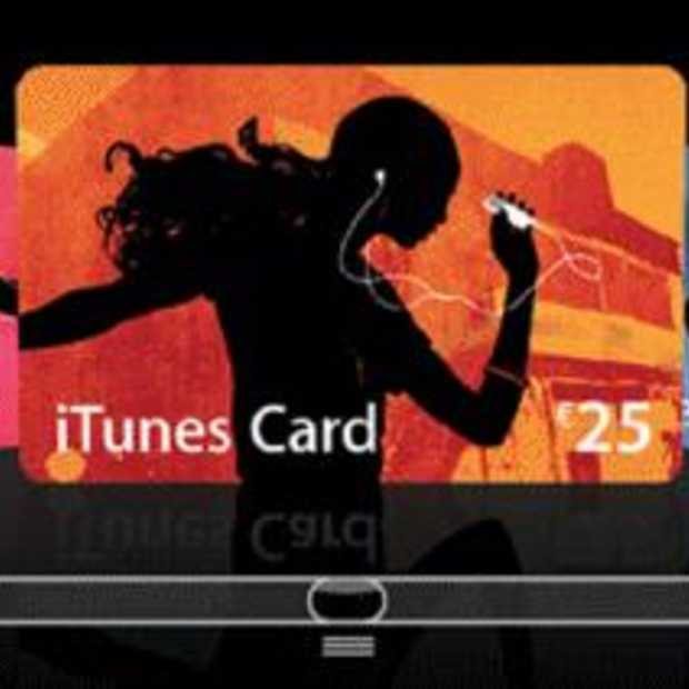Primeur Dixons met iTunes Gift Card